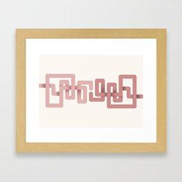 El beso más largo Framed Art Print