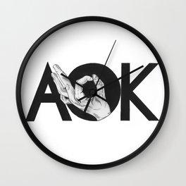 A-OK Wall Clock
