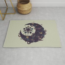 The Dark Moon Compels You to Fuck Shit Up Rug