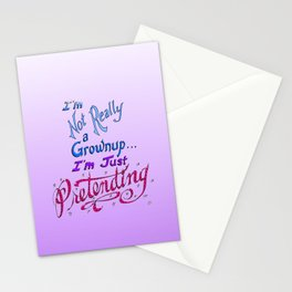 Just Pretending Stationery Cards