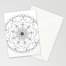 mandala - women's march 2017 Stationery Cards