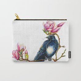 Raven and Magnolia Carry-All Pouch
