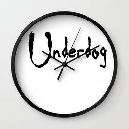 Underdog Wall Clock