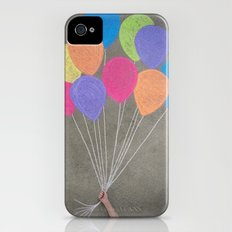 Up up and away Slim Case iPhone (4, 4s)