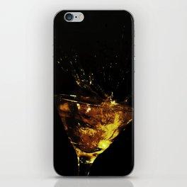 Splash de Cocktail en llamas iPhone Skin