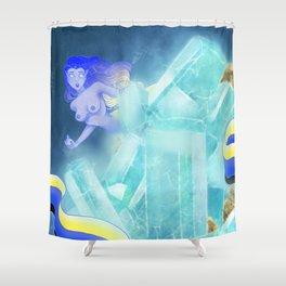 Crystal Guardian Shower Curtain