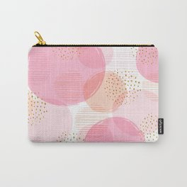 geometric seamless pattern with circles. Carry-All Pouch