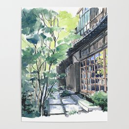 Shaded Alley Poster