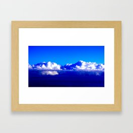 Frozen Sky III Framed Art Print