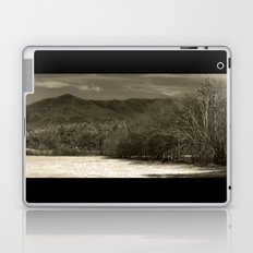 The hills are alive - sepia  Laptop & iPad Skin