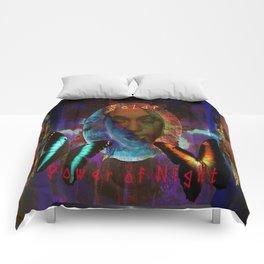 Solar power of Night Comforters