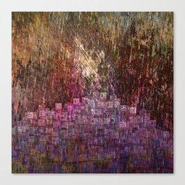Raining Heavily / Autumn 27-10-16 Canvas Print