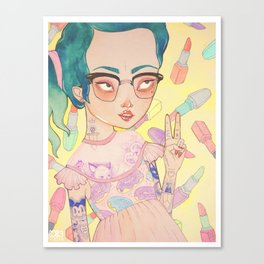 Prom Queen Canvas Print