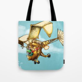 Flying Machine Tote Bag