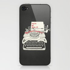 You're my type iPhone & iPod Skin
