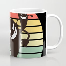 Sunset Ghosts / Smells Like Team Spirits Coffee Mug