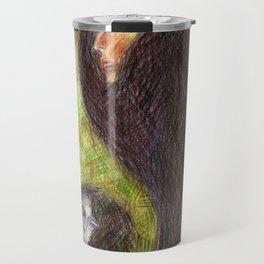 Poissons de Crayons Travel Mug