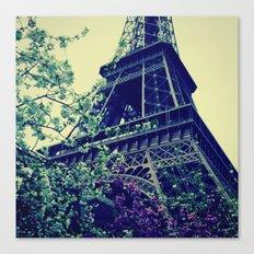 Paris, Paris Mon Amour! Canvas Print