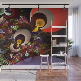 Metals electrical Wall Mural