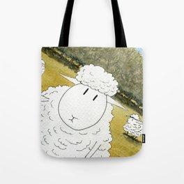 Sheep Selfie Fail Tote Bag