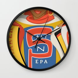 Push It Real Good Wall Clock