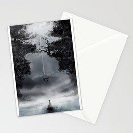 It's where my demons hide ♫ Stationery Cards