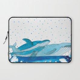 Noah's Ark - Blue Whale Laptop Sleeve