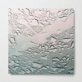 Raindrops on my Window Metal Print