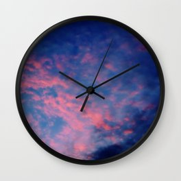 Rose-colored glasses Wall Clock