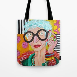 Amazing Iris Tote Bag