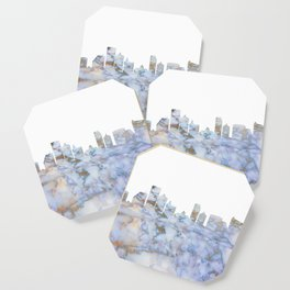 Atlantic City Skyline New Jersey Coaster
