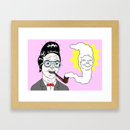 Quiff Framed Art Print