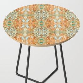 Humming Bird Orange Side Table