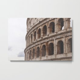 Coliseu Roma | Colosseo Metal Print