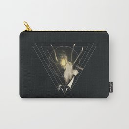 Deer Triangle  Carry-All Pouch