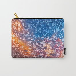 Vintage Marbled Sunset Carry-All Pouch