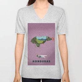 Honduras Unisex V-Neck
