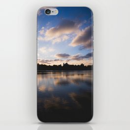 Central Park Sunset Reflection iPhone Skin
