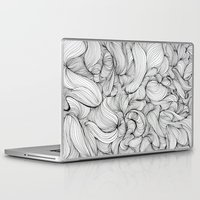 fabric Laptop & iPad Skins featuring Fabric by DuckyB