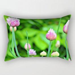 Flowering Chives Rectangular Pillow