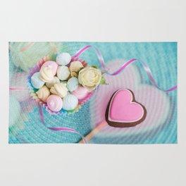 Romantic sweets Rug