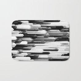 obelisk posture 2 (monochrome series) Bath Mat