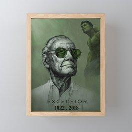 Excelsior Stan Green Framed Mini Art Print