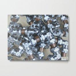 Copper and Chrome Smart Art - FredPereiraStudios.com_Page_05 Metal Print
