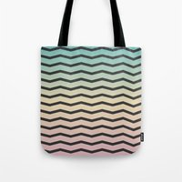 gradient Tote Bags featuring Gradient. by Jake  Williams
