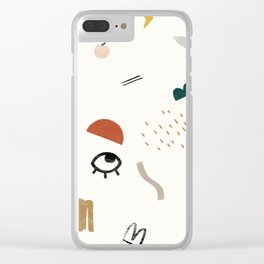 Look At Me Clear iPhone Case