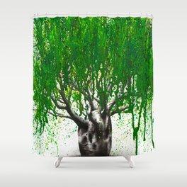 Western Boab Shower Curtain