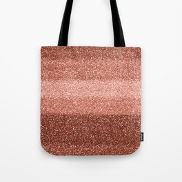 Rose Gold Sparkle Tote Bag