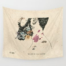 No love in your violence  Wall Tapestry