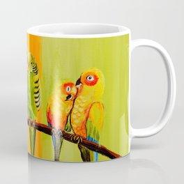 Snuggly Birds Coffee Mug